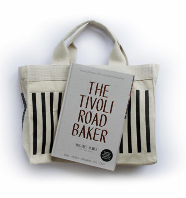 Tivoli Road tote bag and book